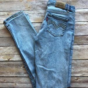 Kids Levis 711 Skinny Jeans